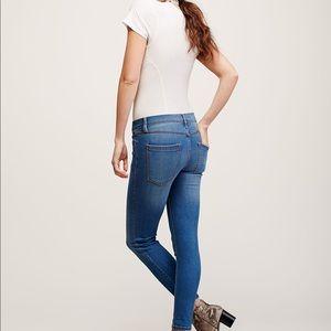 Free People Jeans - NWT Free People Rolled Crop Skinny Jeans